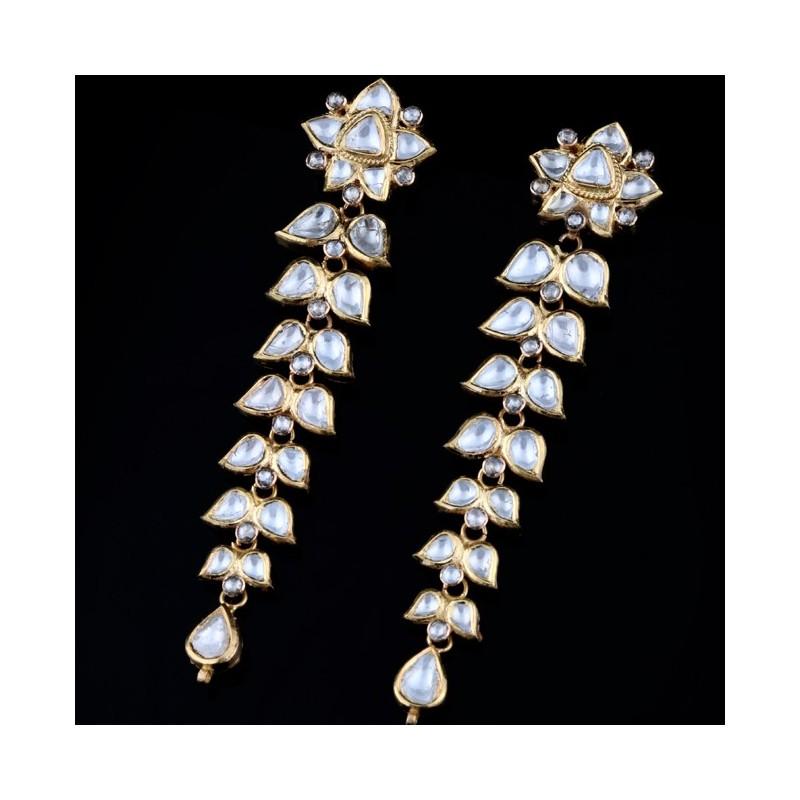 A Pair of Polki Diamond