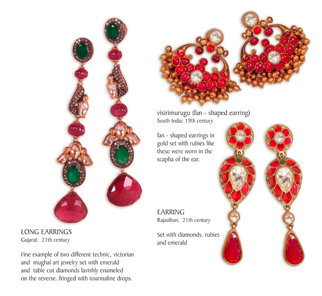 indian jewellery-earrings